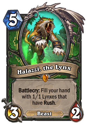 Halazzi, the Lynx Card