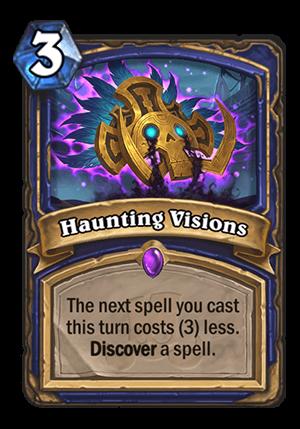 Haunting Visions Card