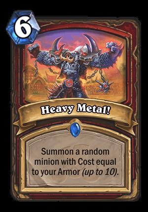 Heavy Metal! Card