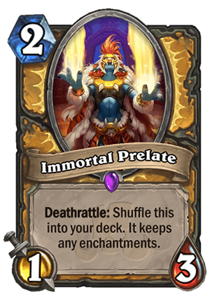Immortal Prelate Card