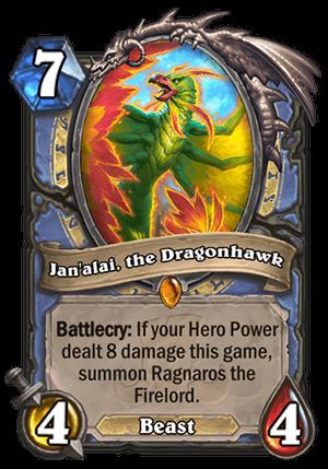 Jan'alai, the Dragonhawk Card