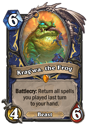 Krag'wa, the Frog Card