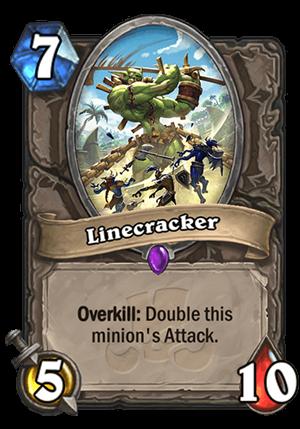 Linecracker Card