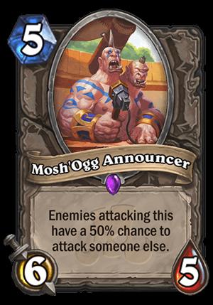 Mosh'Ogg Announcer Card