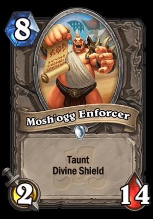Mosh'ogg Enforcer Card