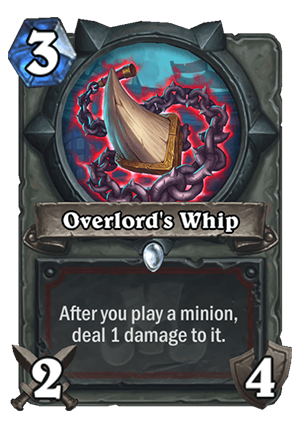Overlord's Whip Card