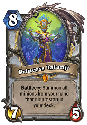 Princess Talanji Card