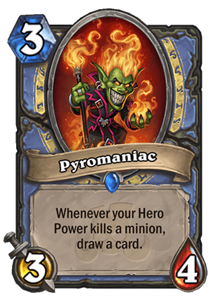 Pyromaniac Card