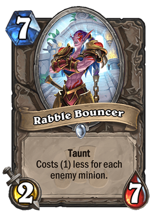Rabble Bouncer Card