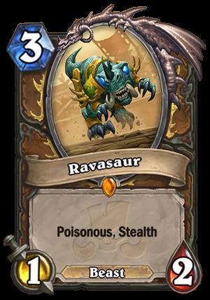 Ravasaur (Wardruid Loti) Card