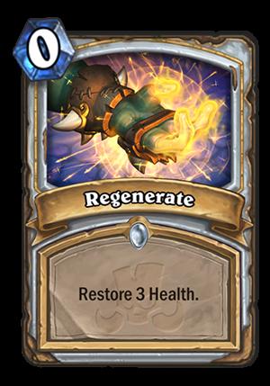 Regenerate Card