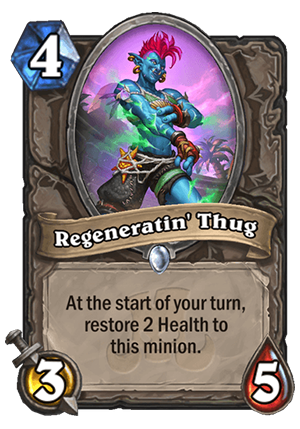 Regeneratin' Thug Card