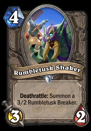 Rumbletusk Shaker Card