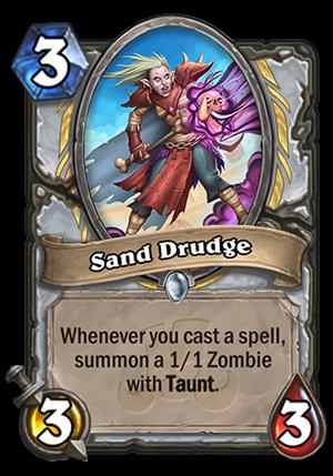 Sand Drudge Card