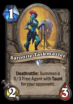 Saronite Taskmaster Card