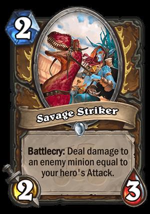 Savage Striker Card