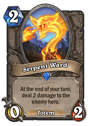 Serpent Ward Card
