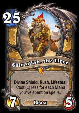 Shirvallah, the Tiger Card