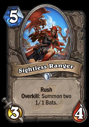 Sightless Ranger Card