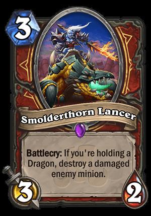 Smolderthorn Lancer Card