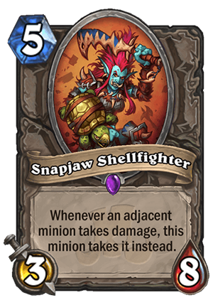 Snapjaw Shellfighter Card