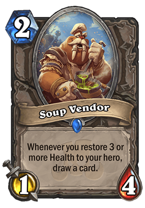 Soup Vendor Card