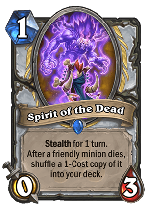 Spirit of the Dead Card