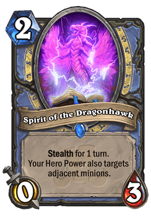 Spirit of the Dragonhawk Card