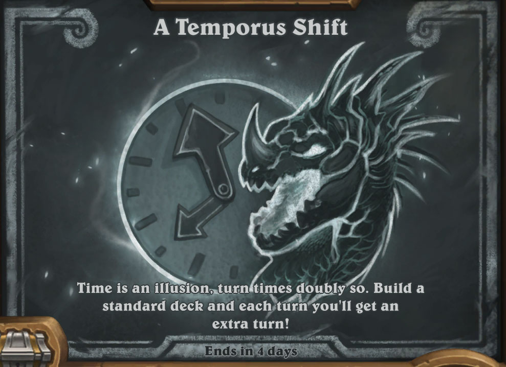 Tavern Brawl - A Temporus Shift - Hearthstone Top Decks