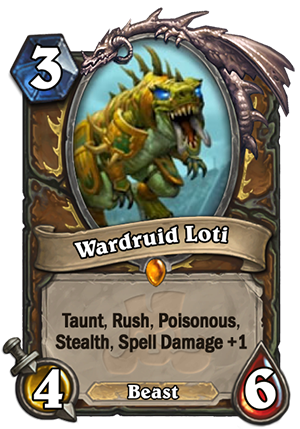 Wardruid Loti (Fandral) Card