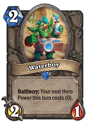 Waterboy Card