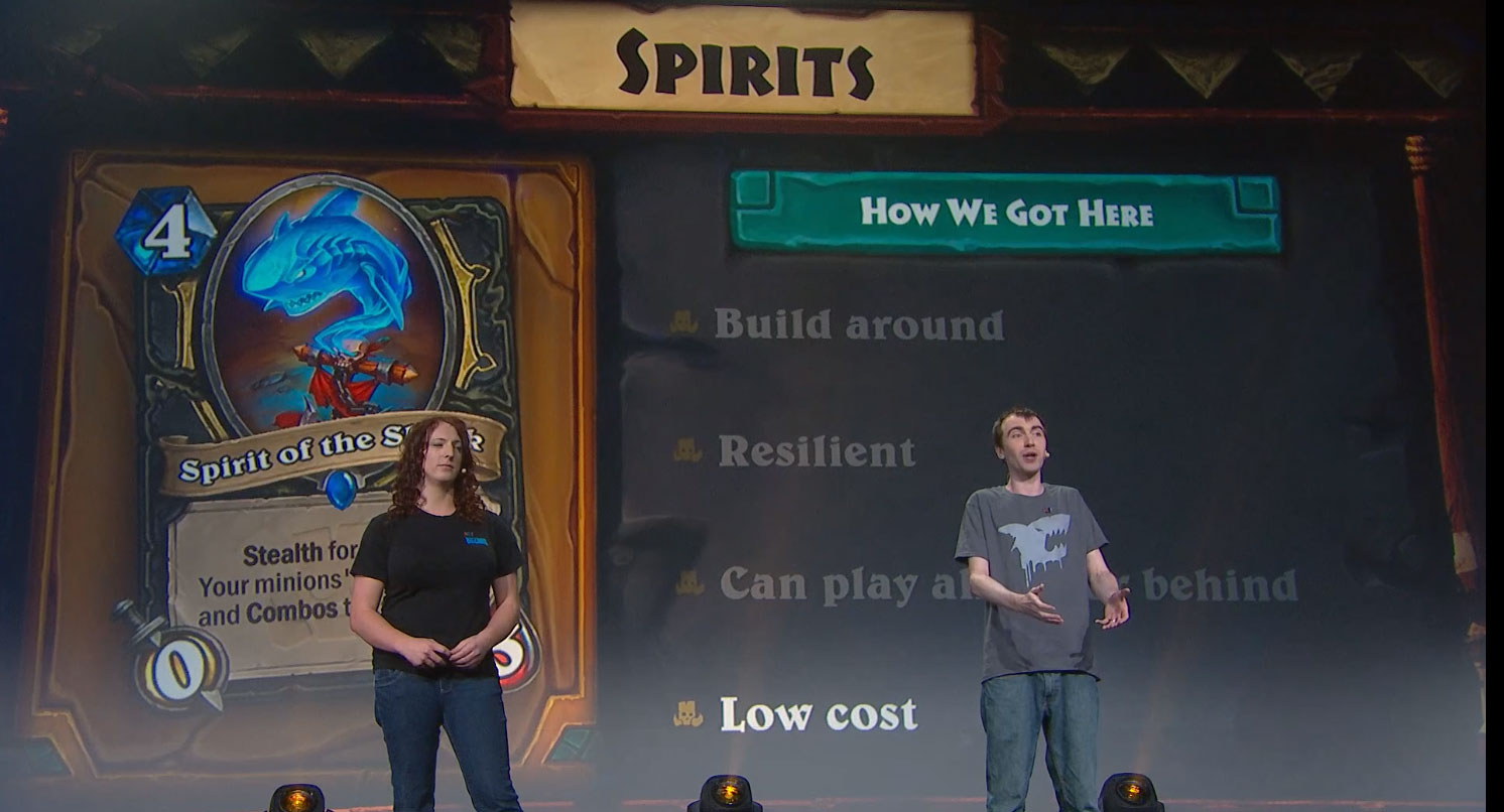 Hearthstone: What's Next? Panel - BlizzCon 2018 - New Cards