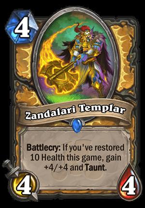 Zandalari Templar Card