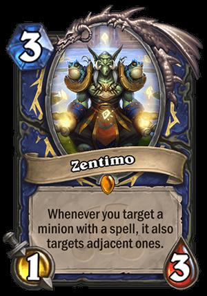 Zentimo - Hearthstone Card - Hearthstone Top Decks