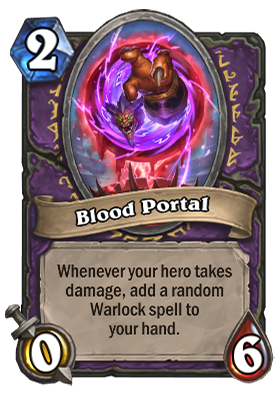 Blood Portal Card
