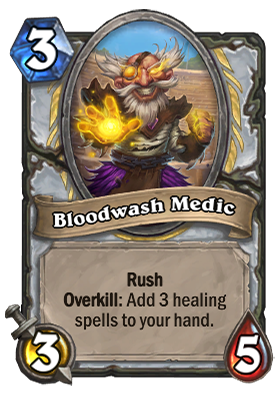 Bloodwash Medic Card