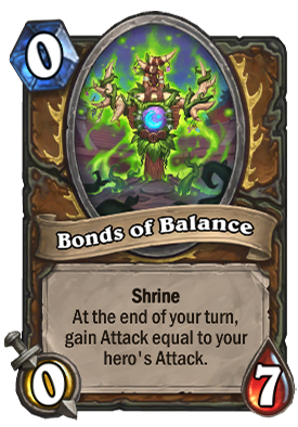 Bonds of Balance Card