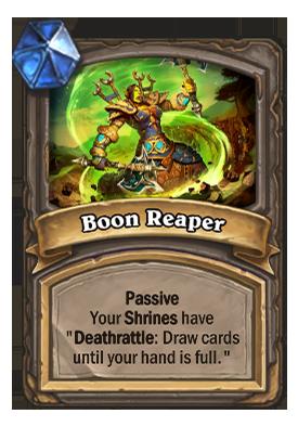 Boon Reaper Card