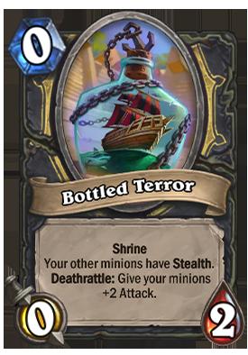 Bottled Terror Card