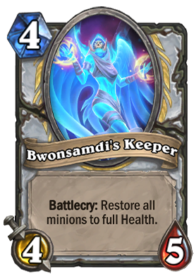Bwonsamdi's Keeper Card