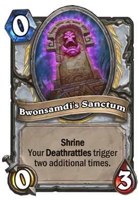 Bwonsamdi's Sanctum Card