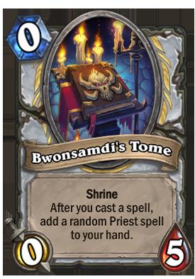 Bwonsamdi's Tome Card