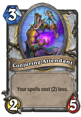 Conjuring Attendant Card