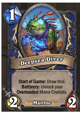 Deepsea Diver Card