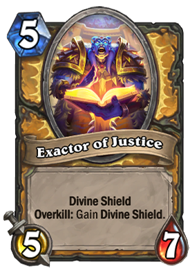 Exactor of Justice Card
