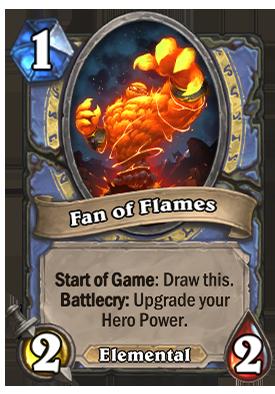 Fan of Flames Card