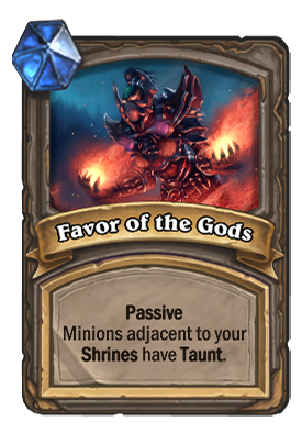 Favor of the Gods Card