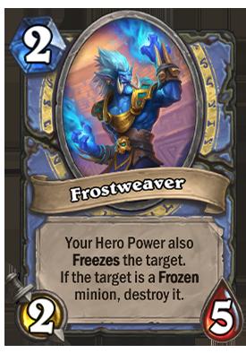 Frostweaver Card