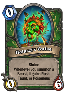 Halazzi's Guise Card