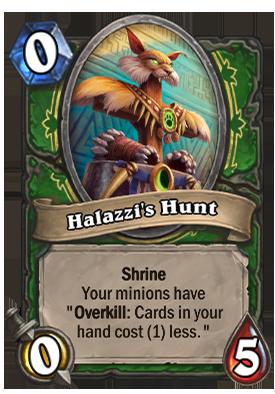 Halazzi's Hunt Card